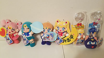 Sailor Moon sailormoon S SIGN SET OF PLUSH BANPRESTO JAPAN