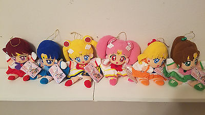 Sailor Moon sailormoon SUPER S PUPPET PLUSH SET BANPRESTO JAPAN
