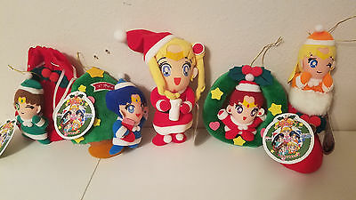 Sailormoon SUPER S SAILOR MOON CHRISTMAS PLUSH SET #2 BANPRESTO JAPAN