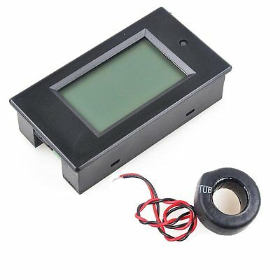 Makerfocus AC 80-260V 0-100A LCD Display Digital Current Voltage Power Energy CT