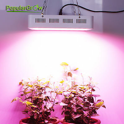PopularGrow Full Spectrum 300W LED Grow Light Indoor Commercial Medical Plant