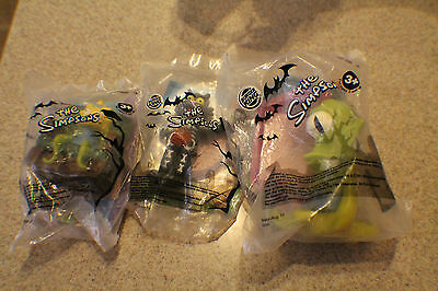 2011 Burger King Kids Meal Toy Tree House Of Horrors 3 Toys