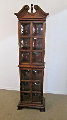 56836 Bubble Glass 2 door Curio China Cabinet