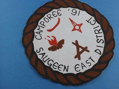 Boy Scouts Scouts Canada East Saugeen Camporee 16  Patch Collector Badge