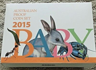 2015 Ram Baby Proof Set  Alphabet Coin Collection Set, Sold Out