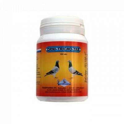 Pigeon Product - Orni Tricho Tab by Travipharma -  for Racing Pigeons