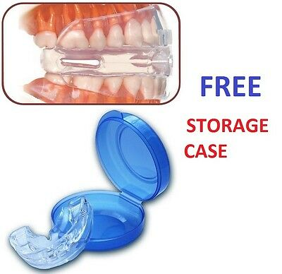 NEW Stop Snoring Mouthpiece Anti Snore & Apnea Stopper Night Sleep Solution 4H