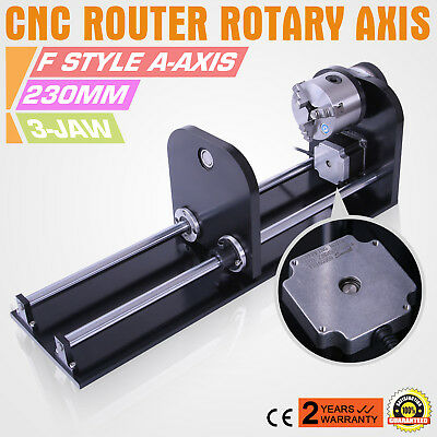 CNC Router Rotary Axis Rotary Attachment Laser Rotary Axis Accessory 230mm Track