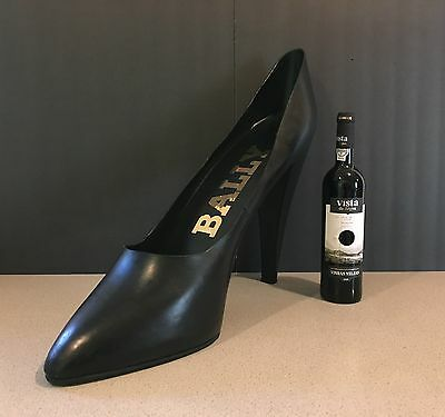 Giant Bally High Heel Shoe Stiletto Pump Store Advertising Display Prop Leather