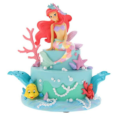 ❦Disney Little Mermaid Disney store Ariel Accessory Stand Jewelry Case box FS❦