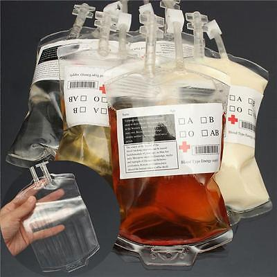 Vampire Diaries Props Reusable Blood Drink Bag Pouch Hallowen Party Cosplay - CB