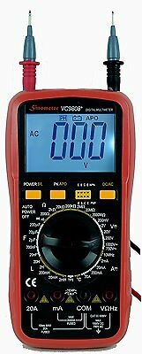 Sinometer VC9808 30-Range Digital Multimeter & LCR Meter, A Professional for L C