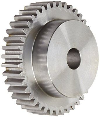 Boston Gear ND40A Spur Gear, 14.5 Pressure Angle, Steel, Inch, 12 Pitch, 0.625""