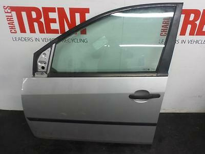 2005 FORD FIESTA 5 Door Hatchback Silver N/S Passengers Left Front Door