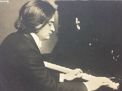 Vintage Postcard: Historical Figure: #A46 : Real Photo : Mark Hambourg Pianist