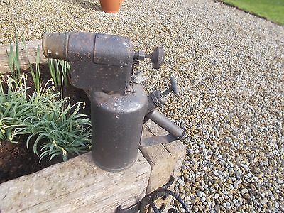 Extra Large French Vintage Steam Punk Lamp Blow Torch Prop Display Ref T9/83
