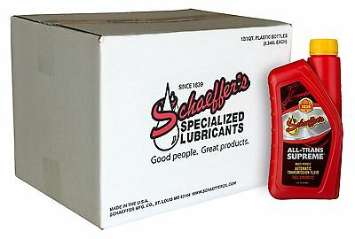 Schaeffer Manufacturing 0204SAT-012 All-Trans Supreme, Wear Protection, 1 quart