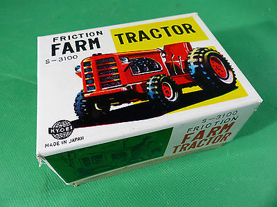 Kyoei S-3100 Made in Japan Farm Tractor  Blech/Tinplate NOS Lagerfund