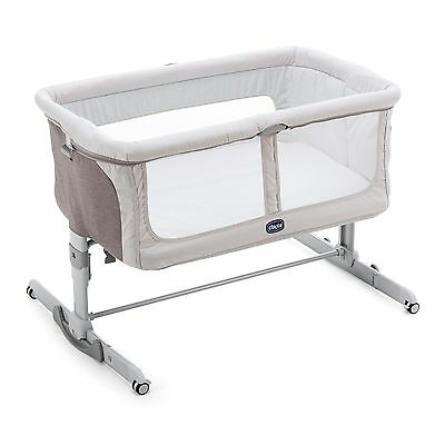 Chicco Next 2 Me Dream Legend 2017 Swing Function Side Sleeping Crib Baby Crib