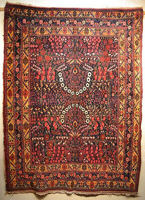 Tapis ancien antique rug Afchar Perse 1930