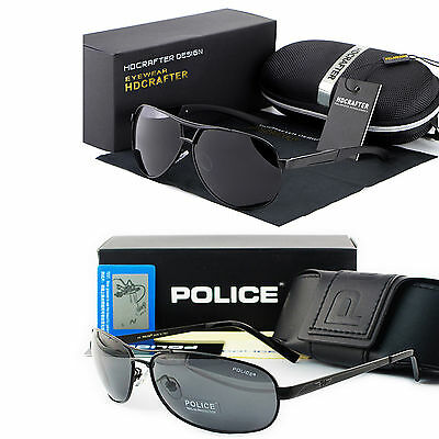 2017 Hot New style Men's polarized sunglasses Driving glasses + gift box