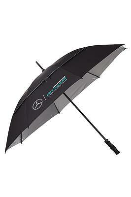Mercedes-Benz AMG Petronas Formula 1 Black Golf Umbrella
