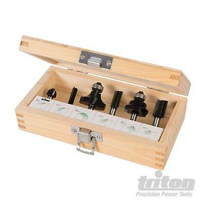 "1/4"" Router Starter Kit 6pce 6pce Power Tool Accessories Router Accessories"