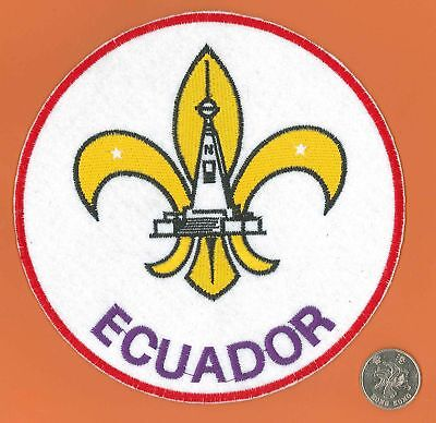 SPANISH SCOUTS OF SPAIN ESPANA ACDE Association Official Emblem Backpatch