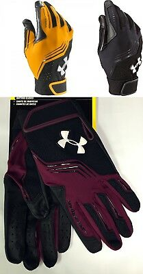 Under Armour Clean Up YOUTH Kids Baseball Softball Batting Gloves, 1243732 NEW!