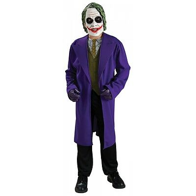 The Joker Costume Kids Batman The Dark Knight Halloween Fancy Dress