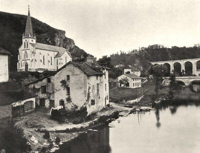 HAUTE-VIENNE. Saint-Léonard 1904 old antique vintage print picture
