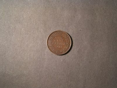 1911 canadian large one cent