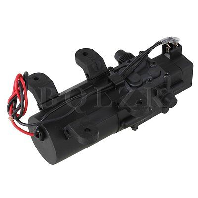 12V 60W DC Diaphragm Water Booster Pump Rubber bracket With pressure switch