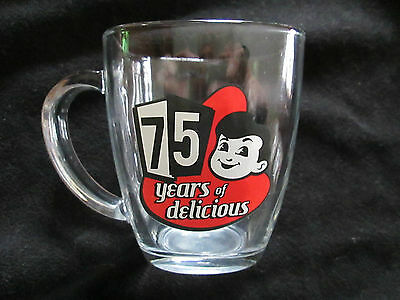 Vintage 75 Years Of Delicious Glass Mug Big Boy Restaurant