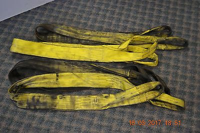 Span Set German 2 meter Duplex Webbing Lifting Sling Strap Strop 3 ton 90mm wide