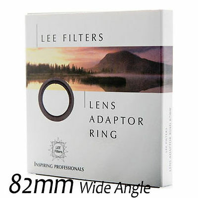 LEE Filters 82mm Wide Angle Adapter Ring for Foundation Kit #WAR-082