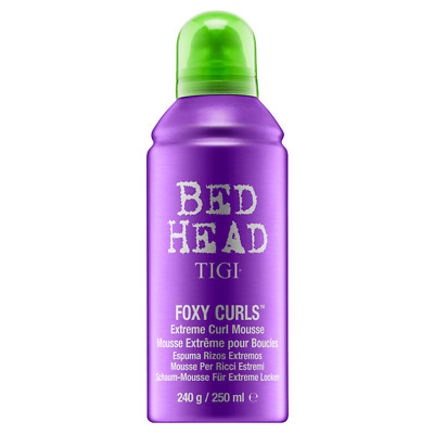 Schiuma Capelli Ricci TIGI Foxy Curls Extreme Curl Mousse 250 ml Bed Head