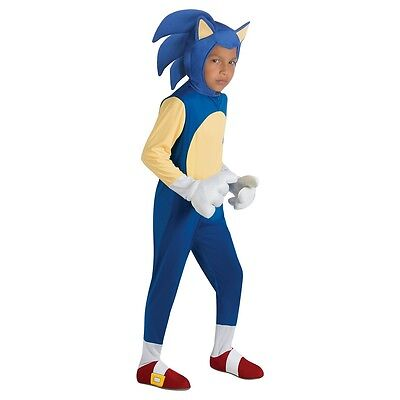 Sonic Costume Kids Sonic The Hedgehog Halloween Fancy Dress