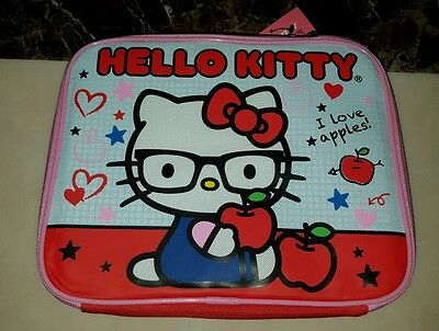 Hello Kitty Nerd Sanrio Insulated Lunch Box New with Tags