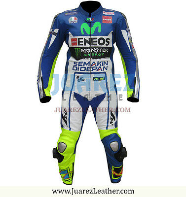 Movistar Yamaha MotoGP 2015 Valentino Rossi Motorbike, Motorcycle Leather Suit