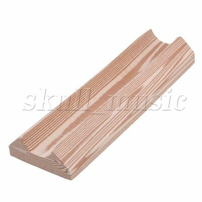 30x10cm Wooden Long Guitar Neck Rest Support Cradle Luthier Repair Tool BQLZR