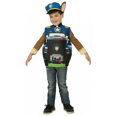 Chase 3D Costume Paw Patrol Halloween Fancy Dress