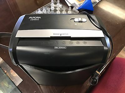 Aurora AS662C  Cross-Cut Paper/Credit Card Shredder with Basket