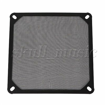 Black 14cm 140mm PC Computer Chassis Fan Dustproof Filter Mesh Metal Strainer