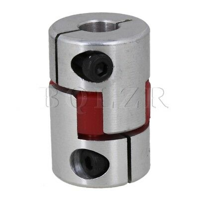 5mm x 8mm Electrical Industrial Absorb Vibration CNC Plum Coupling D20L30