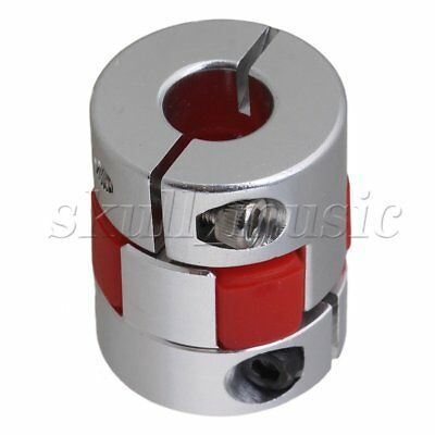 D25L30 Stepper Motors Plum Shaft Coupler 8 x 10mm Absorb Vibration