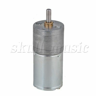 BQLZR DC12V 1200RPM No-load 25GA370 Mini Metal Reduce Speed Electric Motor