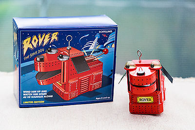 Schylling Toys Repro Wind Up Blech Roboter ROVER THE SPACE DOG 1999 in Box