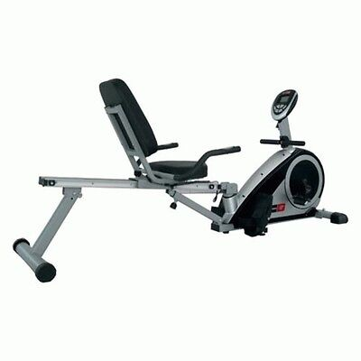 NEW Bodyworx KR905AT 2in1 Rower and Recumbent Exercise Equipment Magnetic Resist