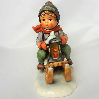 Vintage Hummel Goebel figurine Ride into Christmas  #396 1972-1975  TMK 5